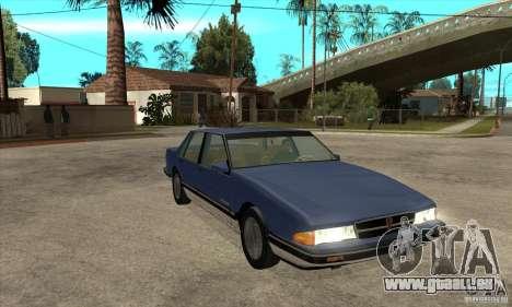 Pontiac Bonneville 1989 pour GTA San Andreas vue arrière