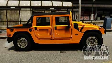 Hummer H1 für GTA 4 linke Ansicht