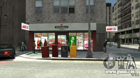 New gas station pour GTA 4 cinquième écran