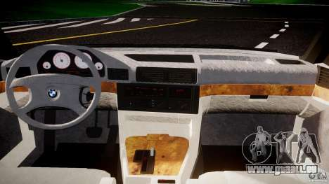 BMW 5 Series E34 540i 1994 v3.0 für GTA 4 Rückansicht