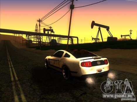 ENBSeries by Fallen v2.0 pour GTA San Andreas quatrième écran