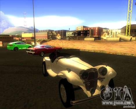 Jaguar SS 100 für GTA San Andreas