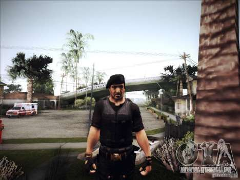 Die Expendables für GTA San Andreas her Screenshot