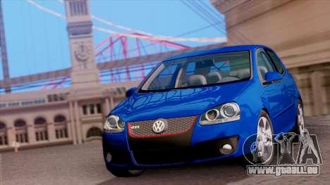 VW Golf V GTI 2006 für GTA San Andreas