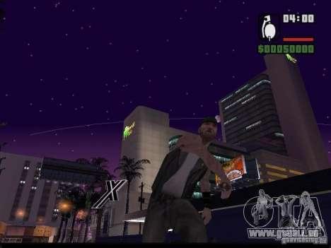 Ciel étoilé v2.0 (pour SA: MP) pour GTA San Andreas deuxième écran
