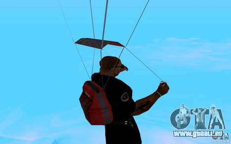 Le nouveau parachute pour GTA San Andreas sixième écran