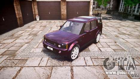 Land Rover Discovery 4 2011 pour GTA 4