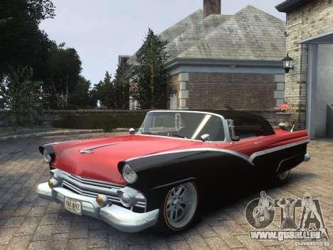Ford Sunliner Custom 1956 pour GTA 4