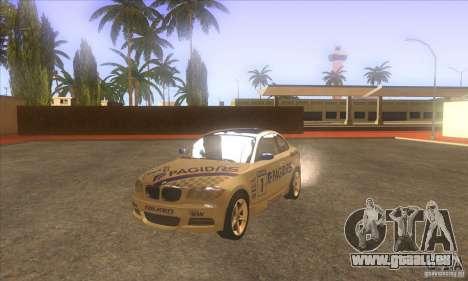 BMW 135i (E82) pour GTA San Andreas vue intérieure