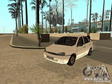 Lada Kalina für GTA San Andreas Innenansicht