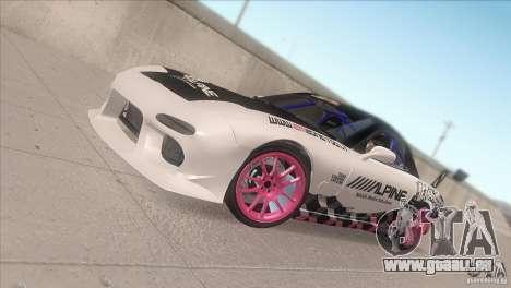 Mazda RX-7 FD K.Terej pour GTA San Andreas vue de côté