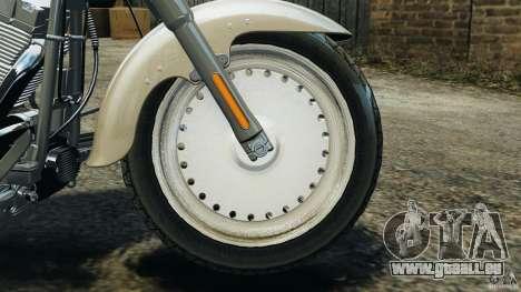 Harley Davidson Softail Fat Boy 2013 v1.0 pour GTA 4 est une vue de l'intérieur
