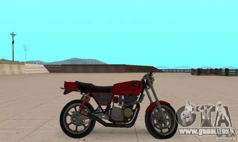 IZH Planeta 5 pour GTA San Andreas sur la vue arrière gauche