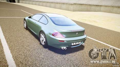 BMW M6 v1.0 für GTA 4 rechte Ansicht