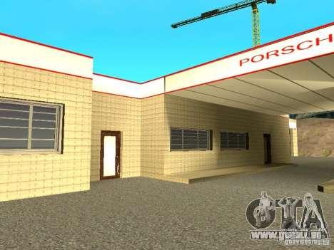 Garage Porsche pour GTA San Andreas troisième écran