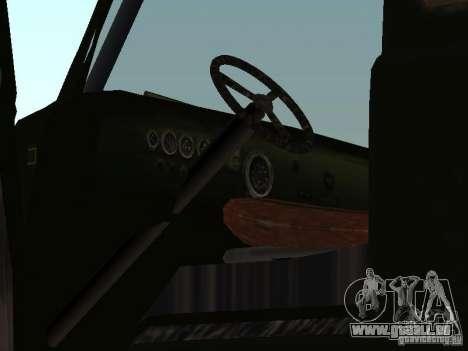 Uaz Monster pour GTA San Andreas vue arrière