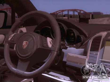 Porsche Cayenne Turbo 958 2011 V2.0 pour GTA San Andreas vue arrière