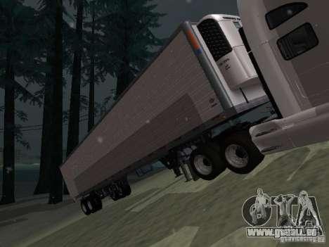 Kühlschrank-Trailer für GTA San Andreas linke Ansicht