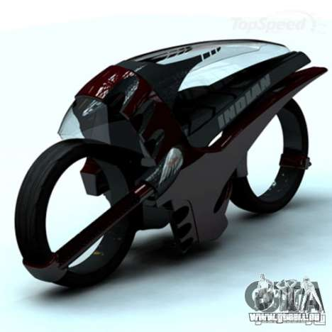 Laden-Bildschirme und Menüs im Stil von Motorrad für GTA San Andreas zweiten Screenshot