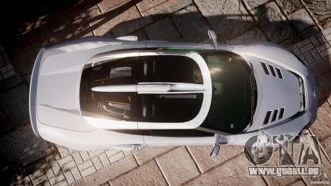 Spyker C8 Aileron v1.0 pour GTA 4 Vue arrière