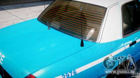 Ford Crown Victoria Classic Blue NYPD Scheme pour GTA 4