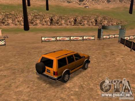 Mountainstalker S für GTA San Andreas Rückansicht