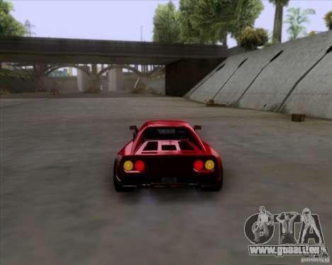 Ferrari 288 GTO für GTA San Andreas rechten Ansicht
