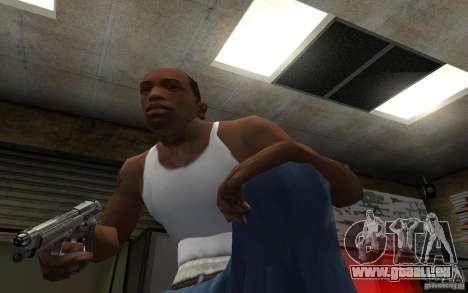 Barreta M9 and Barreta M9 Silenced pour GTA San Andreas sixième écran