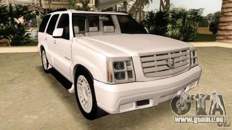 Cadillac Escalade für GTA Vice City