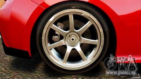Subaru BRZ 2013 pour GTA 4 est une vue de l'intérieur