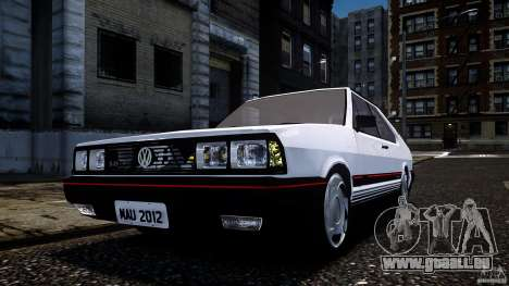Volkswagen Passat Pointer GTS 1988 Turbo pour GTA 4