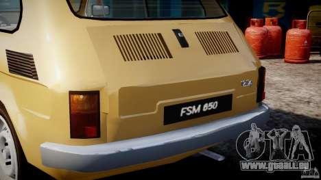 Fiat 126p 1976 pour GTA 4 roues