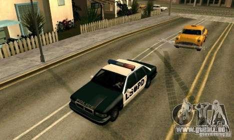 Les crampons sur la route pour GTA San Andreas quatrième écran