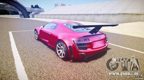 Audi R8 für GTA 4 hinten links Ansicht