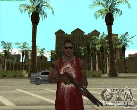 Blood Weapons Pack pour GTA San Andreas sixième écran