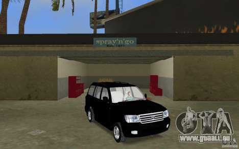 Toyota Land Cruiser 100 VX V8 pour GTA Vice City