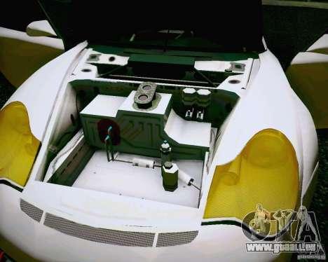 Porsche 911 GT3 für GTA San Andreas Innenansicht