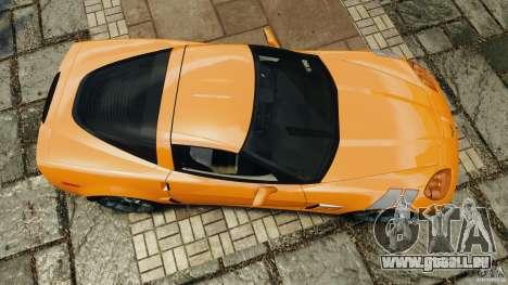 Chevrolet Corvette C6 Grand Sport 2010 pour GTA 4 est un droit
