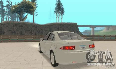 Honda Accord Comfort 2003 pour GTA San Andreas laissé vue