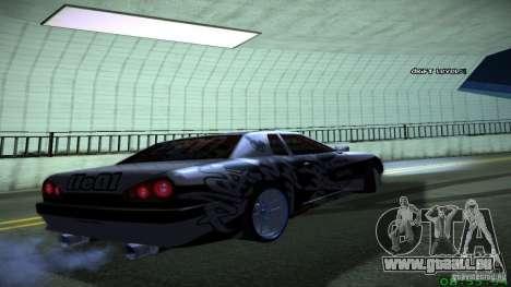 Elegy by LeM pour GTA San Andreas vue de droite