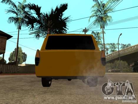 AZLK 427 LT pour GTA San Andreas sur la vue arrière gauche
