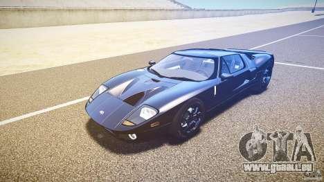 Ford GT1000 2006 Hennessey [EPM] EXTREME VERSION für GTA 4 Rückansicht