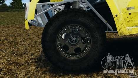 Hummer H3 raid t1 für GTA 4 Seitenansicht