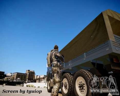 Modern Warfare 2 Soap pour GTA 4 troisième écran