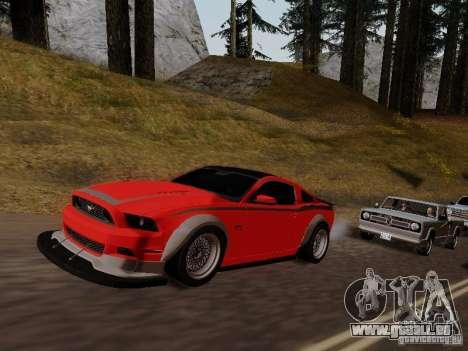 Ford Mustang RTR Spec 3 für GTA San Andreas rechten Ansicht
