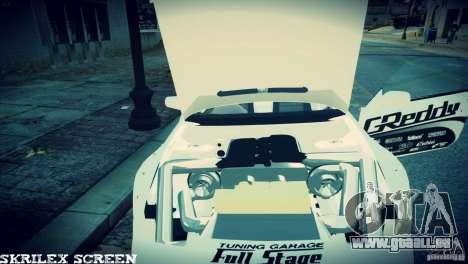 Nissan 380sx BenSpora pour GTA 4 est une vue de l'intérieur