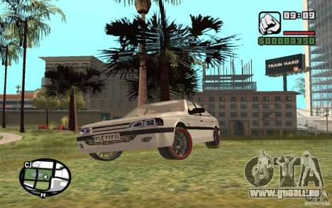 Peugeot 406 Persia für GTA San Andreas linke Ansicht