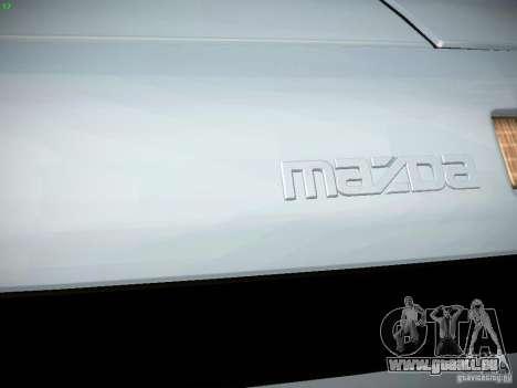 Mazda RX-7 FC3S für GTA San Andreas Innenansicht