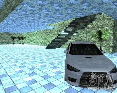 HD Motor Show pour GTA San Andreas troisième écran