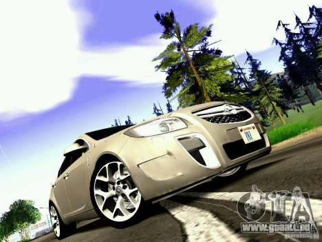 Opel Insignia für GTA San Andreas rechten Ansicht